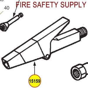 Ansul 15159 Red Line Nozzle Assembly