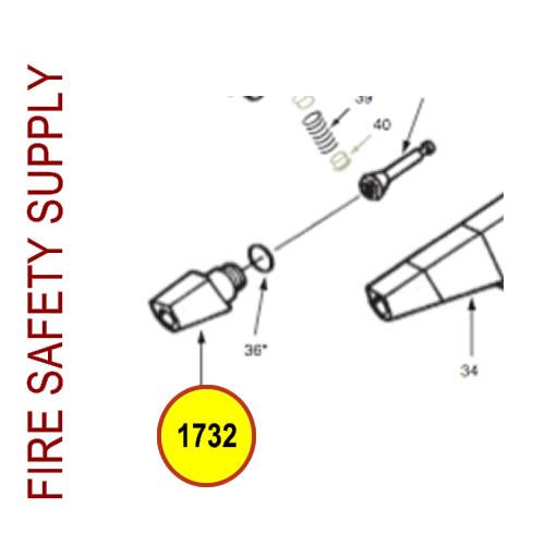 ANSUL REDLINE Valve, Two-way Poppet #1732