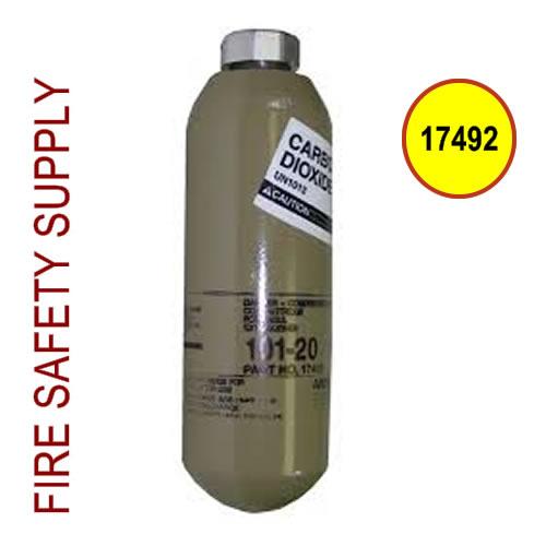 17492 Cartridge, Carbon Dioxide, 101-20 (8/carton) (unit price) (DOT Recharged)