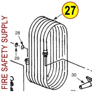 Ansul 2271 Hose Assembly, 1 in. x 50 ft.