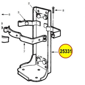 Ansul 25331 Red Line Frame Assembly