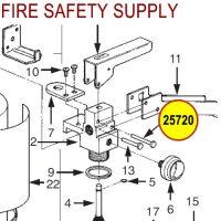 Ansul 25720 Aluminum Carrying Handle Rivet