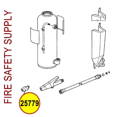 Ansul 25779 Red Line Nozzle Tip