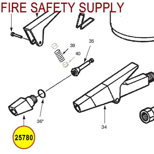 Ansul 25780 Red Line Nozzle Tip