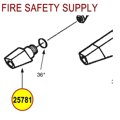 ANSUL REDLINE Tip, Nozzle #25781
