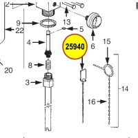25940 Ansul Visual Inspection Seal (All Sentry, H-150-D, CR-H-150-D)
