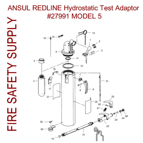 Ansul 27991 Fixture Assembly, Hydro Test