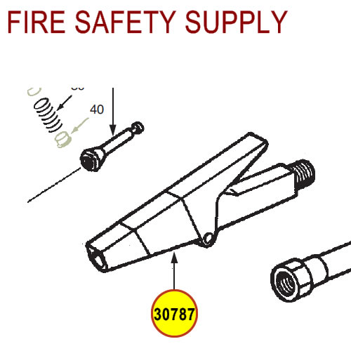 Ansul 30787 Red Line Nozzle Assembly