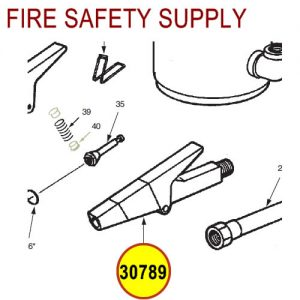 Ansul 30789 Red Line Nozzle Assembly