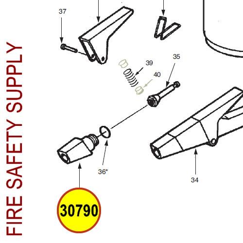 Ansul 30790 Red Line Nozzle Tip