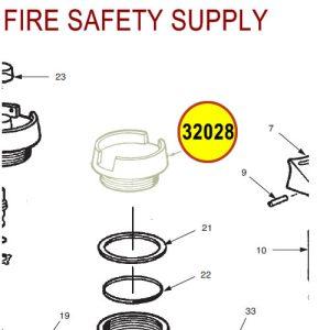 Ansul 32028 RED LINE Fill Cap (10/20/30)