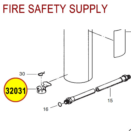 Ansul 32031 Red Line Nozzle Holder