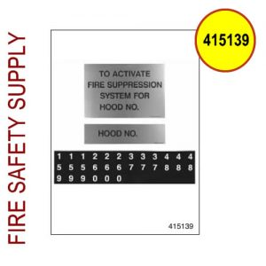 415139 Multiple Hood Label Package