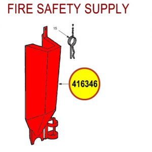 Ansul 416346 Red Line Cartridge Guard