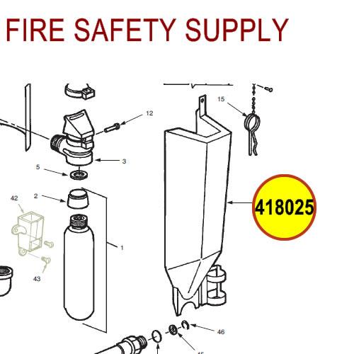 Ansul 418025 Red Line Cartridge Guard