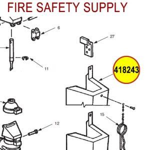 Ansul 418243 Red Line Cartridge Guard