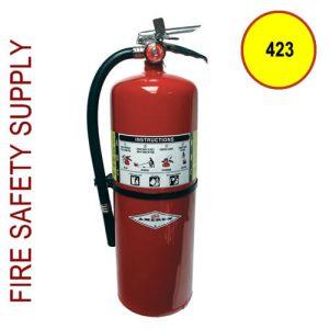 Amerex 423 ABC Dry Chemical Extinguisher 20 lb.