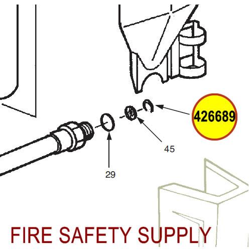 Ansul 426689 Red Line Hose Seal Kit, 30 lb.
