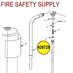 428728 Ansul Sentry Hose Assembly