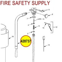 428737 Ansul Sentry Hose & Nozzle Assembly