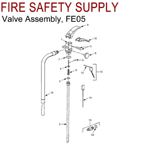 Ansul 429091 CLEANGUARD Valve Assembly (FE05)