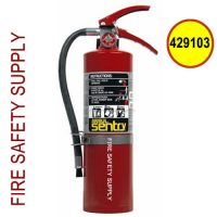 429103 Ansul Sentry Model AA05VB 5lb. Dry Chemical Fire Extinguisher with Vehicle Bracket