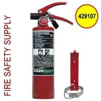 Ansul 429107 CleanGuard 2.5 lb Extinguisher with Vehicle Bracket (FE02VB)