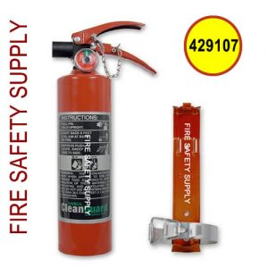 Ansul 429107 CLEANGUARD 2.5 lb Extinguisher with Vehicle Bracket (FE02VB)