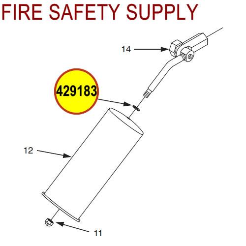 429183 Ansul Sentry Nylon Washer