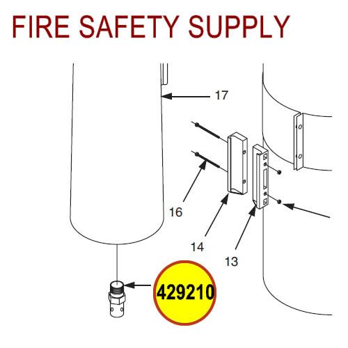 429210 Ansul Sentry Nozzle Orifice