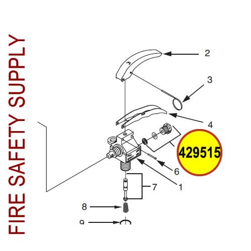429515 Ansul Sentry Safety Plug Assembly