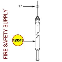 429543 Ansul Sentry Hose & Nozzle Assembly