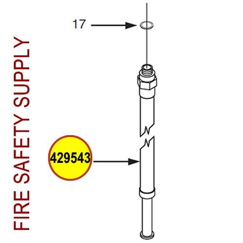 429543 Ansul Sentry Hose & Nozzle Assembly