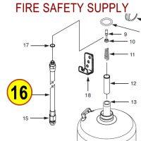 Ansul 430055 K-Guard Hose & Nozzle Assembly