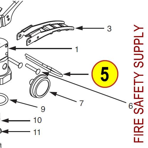 Ansul 430115 K-Guard Ring Pin