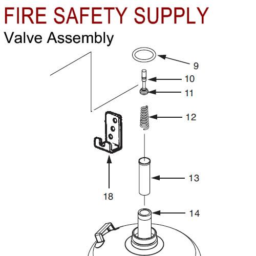 430792 Ansul Sentry Valve Assembly