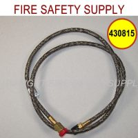 Ansul 430815 Actuation Hose, Stainless Braided, 42 in.