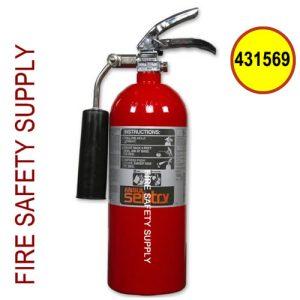 431569 Ansul Sentry 5 lb Steel Carbon Dioxide Extinguisher (CD05-1) (UL/ULC Rating: 5-B:C)
