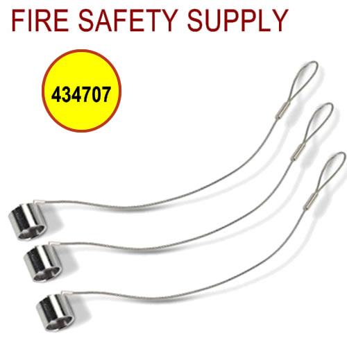 434707 Blow-Off Cap, Metal, CB Metal, Stainless Steel, 10/package (pkg. price)