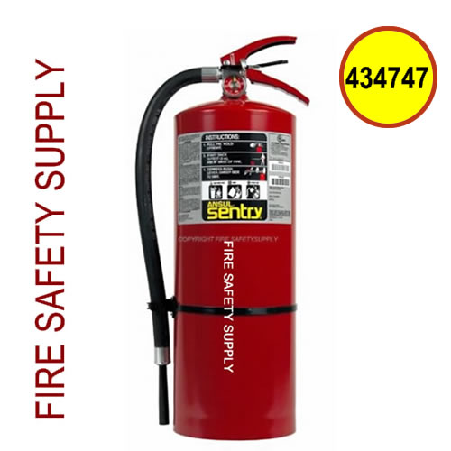 434747 Ansul Sentry 20 lb FORAY Extinguisher (AA20-1)