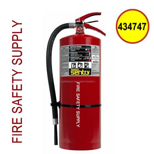 434747 Ansul Sentry 20 lb FORAY Extinguisher (AA20-1)