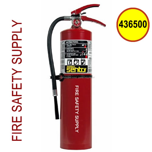 Ansul Sentry 436500 - 10 lb FORAY Extinguisher (AA10S) (UL/ULC Rating: 4-A:80-B:C )
