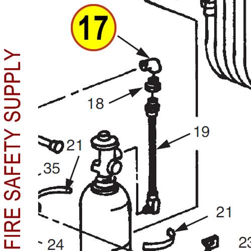Ansul 78409 Valve, Safety Relief