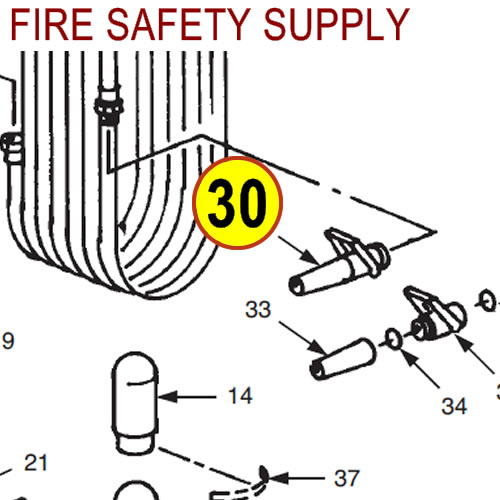 Ansul 53888 Nozzle Assembly