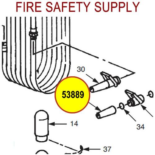 Ansul 53889 Nozzle Body