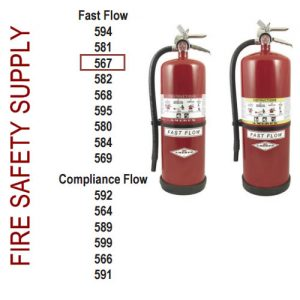 Amerex 567 30 lb. High Performance Dry Chemical Extinguisher
