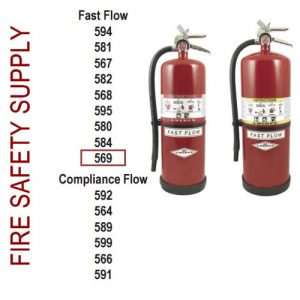 Amerex 569 30 lb. High Performance Dry Chemical Extinguisher