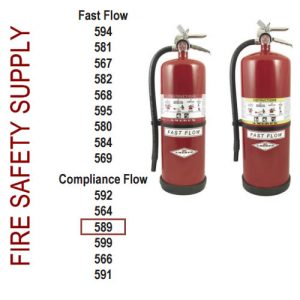 Amerex 589 30 lb. High Performance Dry Chemical Extinguisher