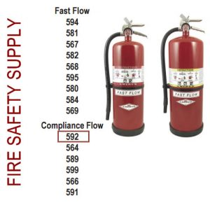 Amerex 592 13 lb. High Performance Dry Chemical Extinguisher