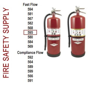 Amerex 595 13 lb. High Performance Dry Chemical Extinguisher